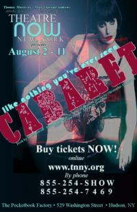 "Theatre Now ""Devastated"" to Cancel CABARET at the Pocketbook Factory"
