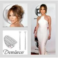 Jennifer Lopez Sparkles in Demarco Jewelry