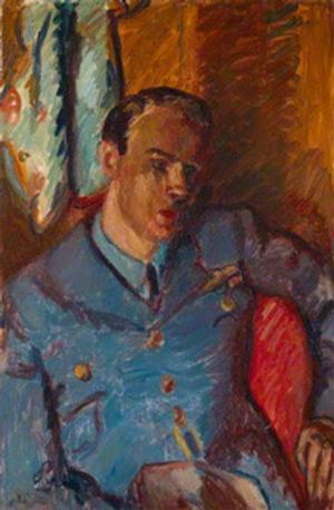 Rare Portrait of Roald Dahl, by Artist Matthew Smith, Displayed at National Portrait Gallery