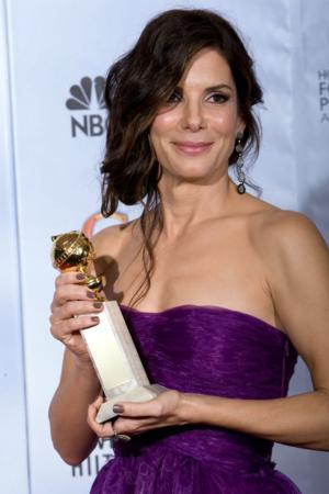 Sandra Bullock, Emma Stone & Zoe Saldana Join GOLDEN GLOBE Line-Up