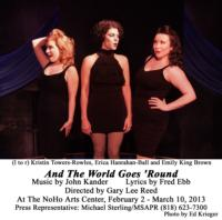 Kander & Ebb's AND THE WORLD GOES ROUND at NoHo Arts Another Sterling Production