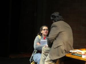 BWW Reviews: Queensbury Theatre's OLEANNA is Provocative, Evocative