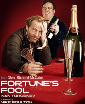 Iain Glen Departs FORTUNE'S FOOL at Old Vic Due to Illness; William Houston Takes Over