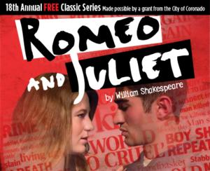 Coronado Playhouse Stages Shakespeare's ROMEO AND JULIET, Now thru 7/20