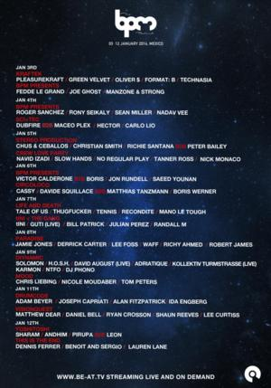 The BPM Festival 2014 Is Live Streaming on BE-AT.TV
