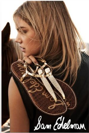 Kate Upton the Face of Sam Edelman Once Again