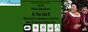 Austin Shakespeare in the Park to Kick Off May 1 with AS YOU LIKE IT