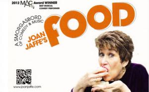 Joan Jaffe to Bring FOOD to Abingdon, 2/16