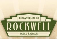 ROCKWELL: TABLE & STAGE Announces 8/13 Lineup