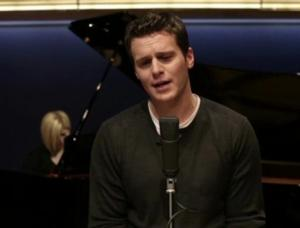 In Performance: Jonathon Groff Sing's 'Lost in His Arms' for Valentine's Day