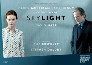Rich Mix Cinema Presents Live Screening of David Hare's SKYLIGHT, 7/17