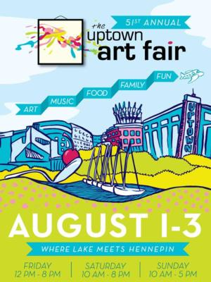 51st Annual Uptown Art Fair Comes to Minneapolis This Weekend
