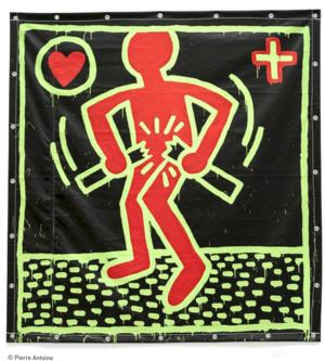 The Fine Arts Museums of San Francisco Announces KEITH HARING: THE POLITICAL LINE, 11/8-2/8