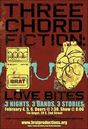 Brat Productions Presents LOVE BITES, Now thru 2/6