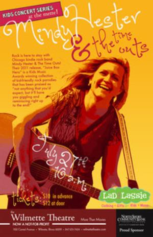 Mindy Hester & The Time Outs Play Wilmette Theatre Today