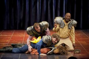 BWW Reviews: Laughs Come Easily in THE COMPLETE WORKS OF WILLLIAM SHAKESPEARE (ABRIDGED)