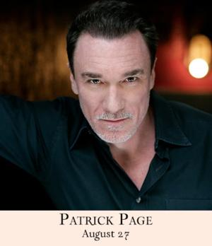 Patrick Page Returns to 54 Below for Encore Performance of GOOD TO BE BAD Tonight