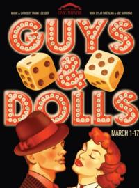 South Bend Civic Theatre Presents GUYS & DOLLS, 3/1-17