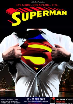 IT'S A BIRD… IT'S A PLANE… IT'S SUPERMAN to Move to Leicester Square Theatre in February