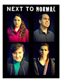 Mesa Encore Theater Stages NEXT TO NORMAL at Mesa Arts Center, Now thru 2/3