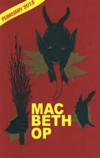 The Shakespeare OP Players Will Present MACBETH, 2/7-24