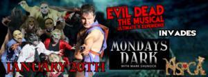 Cast of EVIL DEAD Set for Mondays Dark Event, 1/20
