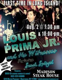 Louis Prima Jr. Makes Long Island Debut at Madison's Steak House Tonight