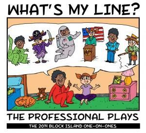 New 52nd Street Project Presents WHAT'S MY LINE: THE PROFESSIONAL PLAYS This Weekend