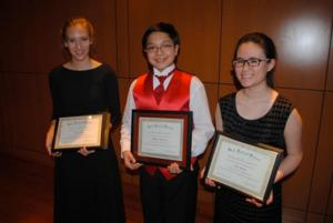 Bach Festival Society Announces 2013 Young Artist Competition Winners