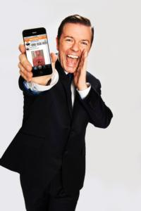 Ricky Gervais Introduces The Just Sayin' App, Bringing Voice Conversations To Social Media