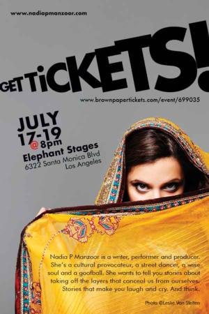 BURQ OFF! by Nadia Manzoor Receives LA Premiere at Elephant Stages in Hollywood, Now thru 7/19