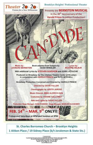 Theater 2020 Presents CANDIDE, Now thru 3/9