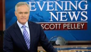 CBS EVENING NEWS WITH SCOTT PELLEY Up Year-to-Year in Viewers