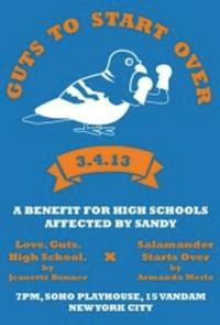 Guts to Start Over: A Benefit for High Schools Affected by Sandy Set for 3/4 at Soho Playhouse