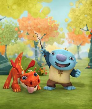 Nickelodeon to Debut New Animated Literacy Series WALLYKAZAM, 2/3