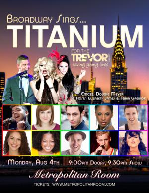 Marisha Wallace, Brian Craft, Rachel Lorin, and More Set for Broadway Sings for The Trevor Project at Metropolitan Room, 8/4