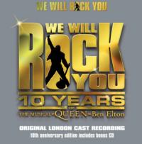 WE WILL ROCK YOU's 10th Anniversary CD Released Today, Oct 15