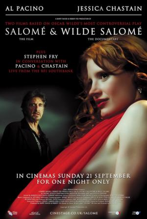 Fry To Host SALOME And WILDE SALOME Q&A With Pacino And Chastain