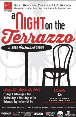 Roxy Regional Theatre Celebrates Musicals With A NIGHT ON THE TERRAZZO, Now thru 9/12