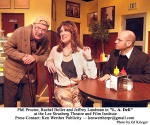 BWW Reviews: Recognizable Local Characters Inhabit L.A. DELI, A New Comedy by Sam Bobrick