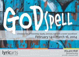 Lyric Arts to Stage GODSPELL, 2/14-3/16