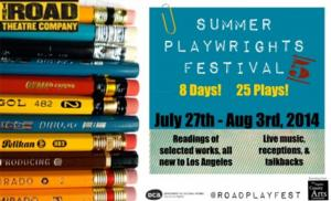 Road Theatre Announces 2014 Playwrights Festival, Featuring D.L. Coburn and More, 7/27-8/3