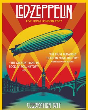 La Mirada Theatre Presents HD Screening of LED ZEPPELIN: CELEBRATION DAY Tonight
