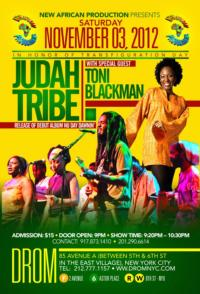 Judah Tribe Perform with Toni Blackman at the DROM, NYC, 11/3