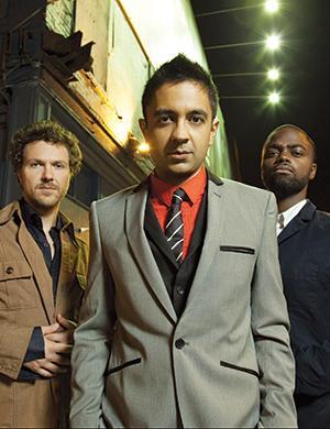 Celebrity Series of Boston Presents POEMJAZZ with Vijay Iyer Trio and Robert Pinsky, 3/14