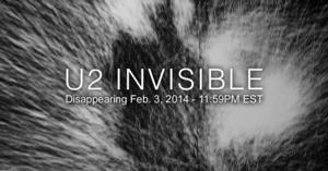 U2's New Song 'Invisible' Now Available for Free Download on iTunes