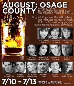 Original Cast Reunites Tonight to Record AUGUST: OSAGE COUNTY at L.A. Theatre Works