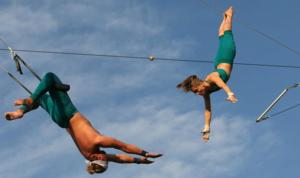 Fly School Circus Arts Opens for Summer/Fall Season with Flying Trapeze Lessons