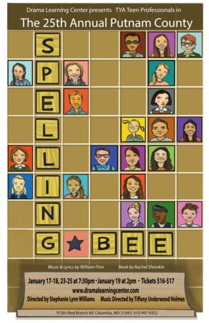Teaching Young Actors Presents THE 25TH ANNUAL PUTNAM COUNTY SPELLING BEE, Now thru 1/25