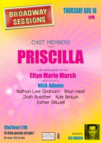Broadway Sessions Welcomes PRISCILLA's Nick Adams and More, 8/16